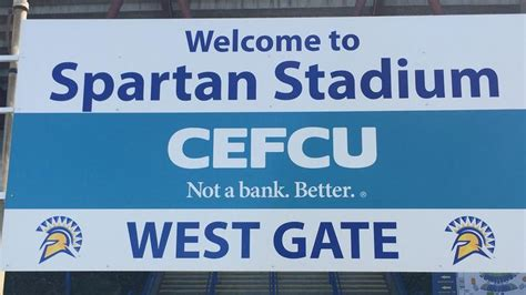 cefcu buys naming rights to san jose state s spartan