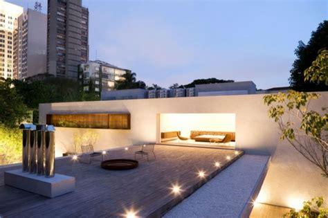beleuchtung dachterrasse erstaunliche moderne terrassengestaltung in 120 fotos