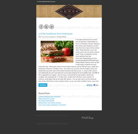 psd to responsive mailchimp rss email template for