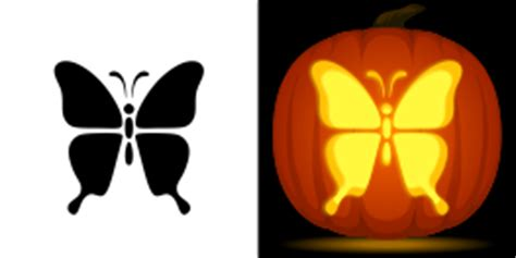 new pumpkin stencils butterfly phoenix pirate ship and more