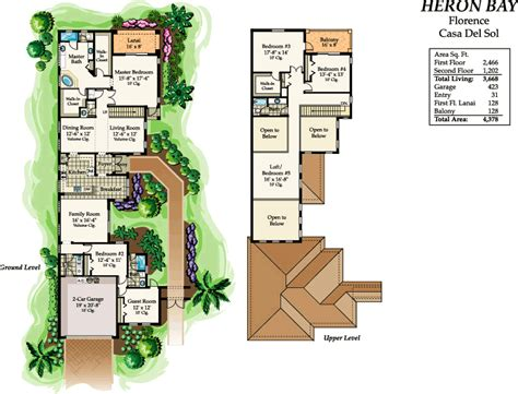 casa del sol plan casa del sol heron bay parkland florida real estate