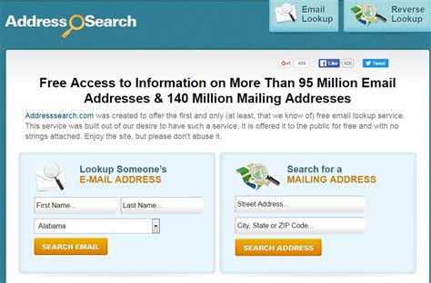 Search Engine For Email Addresses 15 Search Engines To Find Friends Hongkiat