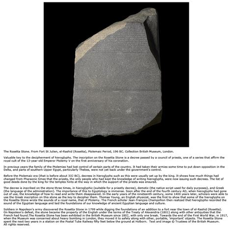 rosetta stone return egypt from ptolemaic and roman rule to the arab conquest