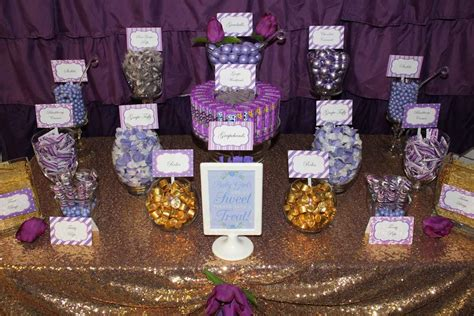 Purple And Gold Baby Shower by Purple And Gold Baby Shower Favors P Wall Decal