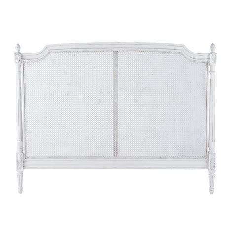 da letto avorio testata da letto patinata color avorio in mango l 140 cm