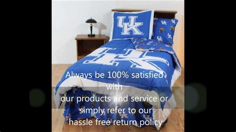 university of kentucky comforter university of kentucky bedding kentucky wildcats