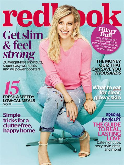 Win Hilary Duffs Cover Look by Hilary Duff On Why She Feels Extremely Guilty Being A