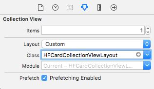 layout collection view hfcardcollectionviewlayout 卡片栈布局 swift开发社区 ctolib码库