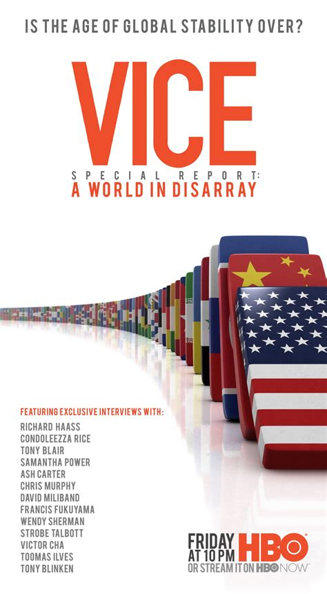 a world in disarray american foreign policy and the crisis of the order books vice special report a world in disarray debuts july 21