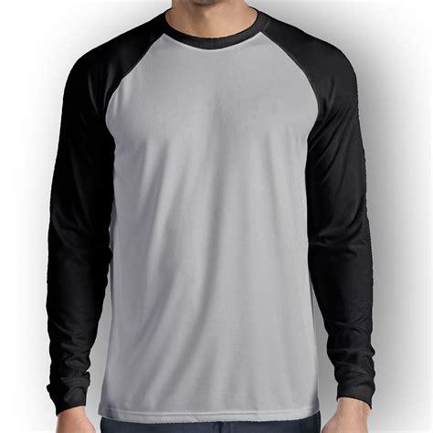 Baju Wanita Sweater Lengan Panjang Hitam Putih Polkadot raglan lengan panjang abu hitam