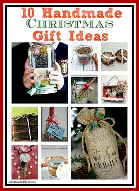 Handmade Gift Ideas 2014 - 10 diy stuffers