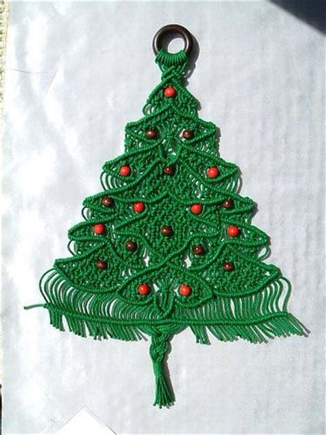 17 best images about christmas tree macrame on pinterest