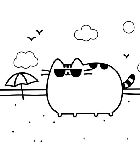 cute pusheen coloring pages 276 best cute kitten images on pinterest coloring pages