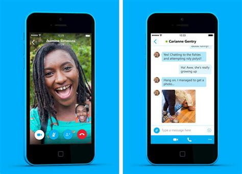 redesigned skype 5 0 for iphone launching today macrumors
