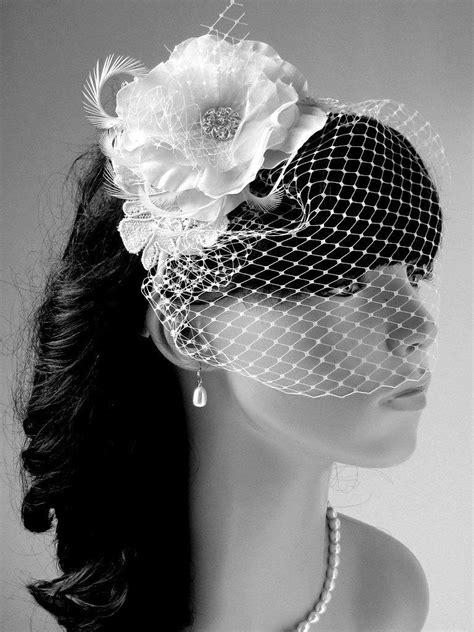 wedding hair pieces and veils bridal birdcage veil wedding hair accessories bridal