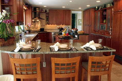 kitchen peninsula with seating peninsula with seating transitional kitchen chicago