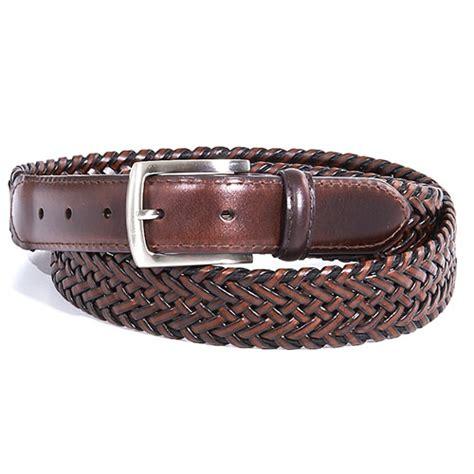 dockers 174 stretch braided leather belt boscov s
