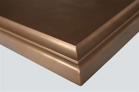 Bronze Countertop by Anvil Medallion Bronze Countertops By Grothouse