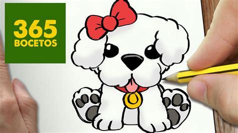 imagenes de matematicas faciles de dibujar como dibujar un perrito dulce paso a paso os ense 241 amos a