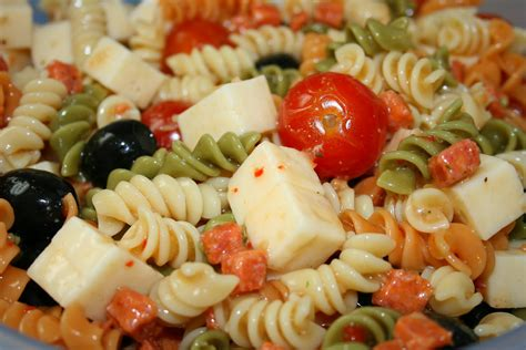 easy pasta salad simple macaroni salad recipe dishmaps