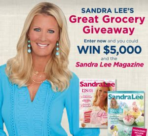 Great Grocery Giveaway 2016 - valpak and sandra lee s great grocery giveaway sweepstakes win 5 000 more