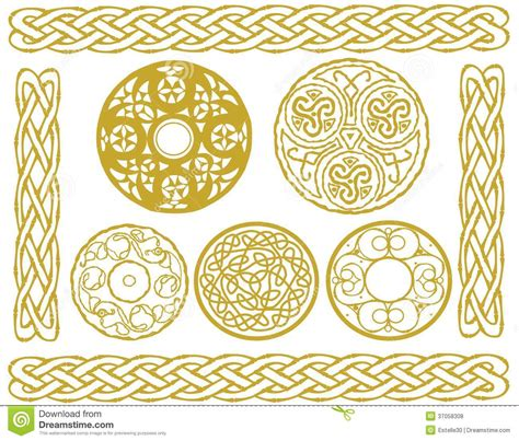 celtic designs royalty free stock photos image 37058308