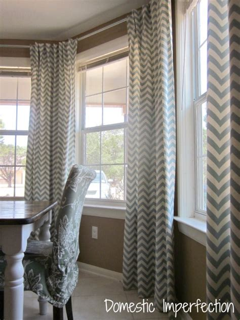 bay window curtain rod diy crafty sewing projects for the home diy joy
