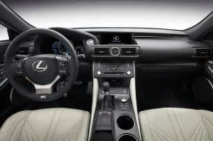 Lexus Interior 2015 Lexus Rc F Look Photo Gallery Motor Trend