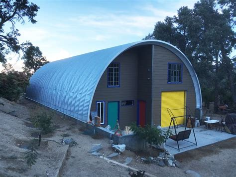 design inspiration hut this is one colorful quonset hut quonset hut homes