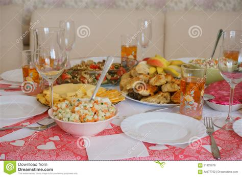 food on the table stock photo image 51825916