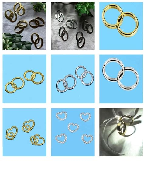 Eheringe Gold Und Silber by 5 P Eheringe Silber Ringe Scrapbooking Streuteile