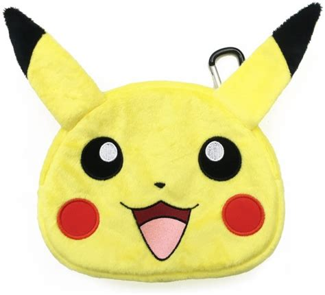 New 3ds Xl Hori Pikachu Pouch hori pikachu plush pok 233 mon pouches for new nintendo 3ds xl now available at for reduced