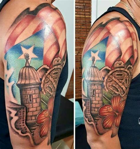 tribal puerto rican tattoos pin by quiles on