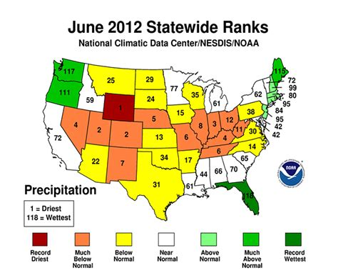 us weather map june summary information state of the climate national