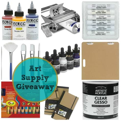 Art Supplies Giveaway - art supply giveaway let s celebrate the new portraits class jeanne oliver