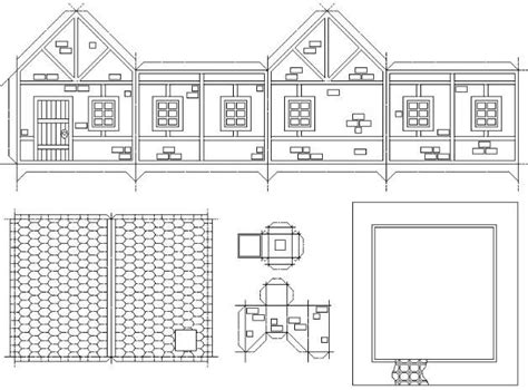 printable tudor house template 25 best images about paper model on pinterest models