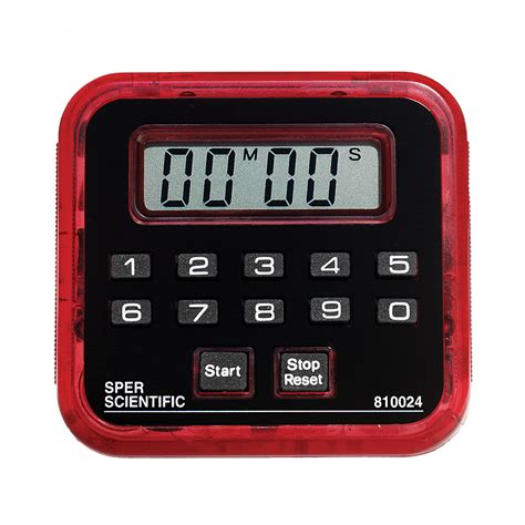 Buy Digital Clock by Countdown Timer Clock Count Up 99 Minute Sper Scientific