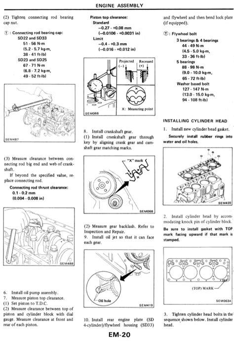 nissan patrol zd30 wiring diagram wiring diagram