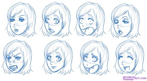 Drawing Expressions by Step 5 How To Draw Expressions