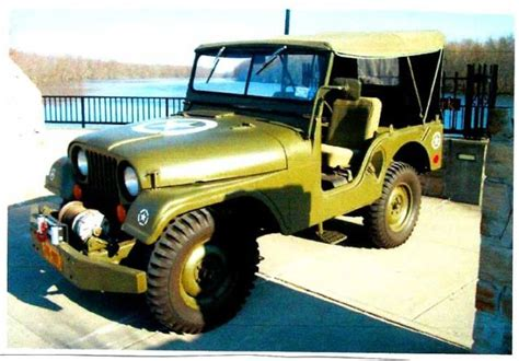 Jeep Pto Green Army Jeep With Pto Winch New Tires Brakes 12