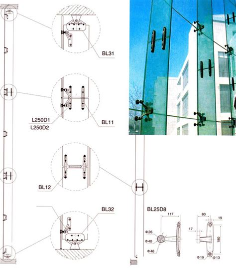 Cable Handrail Spider Clamp System