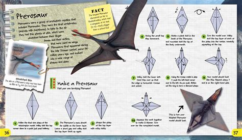 How To Make Paper Dinosaur - pics for gt origami dinosaur step by step