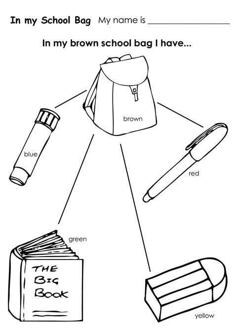 coloring pages for kids classroom objects classroom objects coloring pages pictures