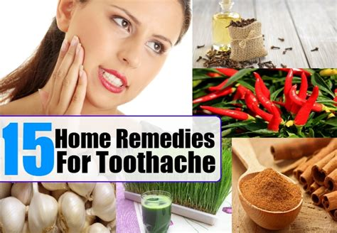 15 home remedies for toothache treatments cure