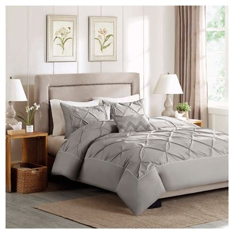 target bed covers zoey 4 piece cotton percale duvet cover set target