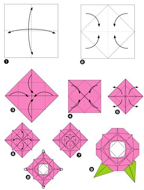 Rosa De Origami - origami de rosa imagui