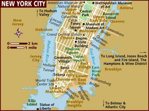 printable map york city centre new york city map nyc tourist