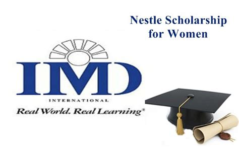 Mba Scholarships For Developing Countries by Apply For Nestl 233 Mba Scholarships For In Developing