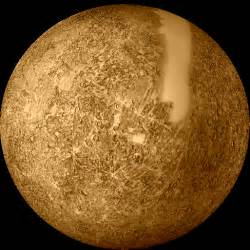 what color is mercury planet mercury