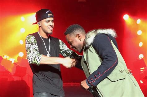 kendrick lamar vs j cole a teaser of kendrick lamar and j cole s first song